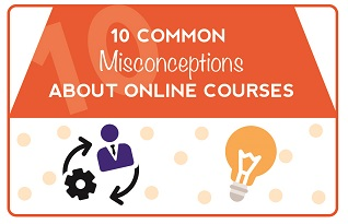 10 Misconceptions About Online Learning