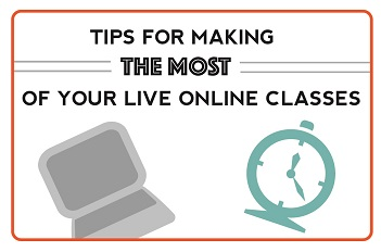 Making the Most of Live Online Courses